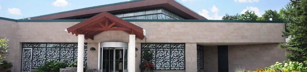 ERC front entrance