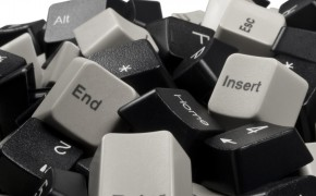Keyboard keys to be recycled