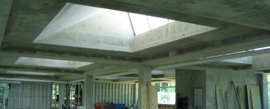 Construction of second floor