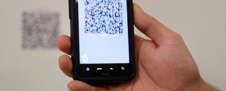 QR code scanning