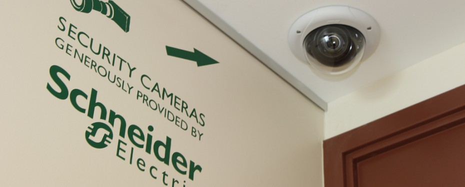 Indoor entry camera