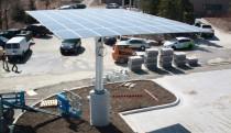 Constructing the solar panels