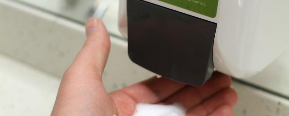 Green Cricket hand soap