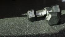 Gym floor closeup