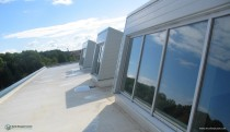 Skylights from roof