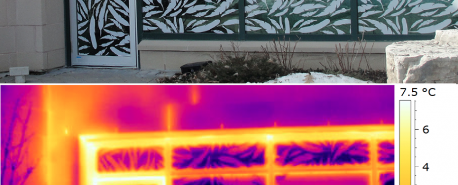 Thermal imaging of windows