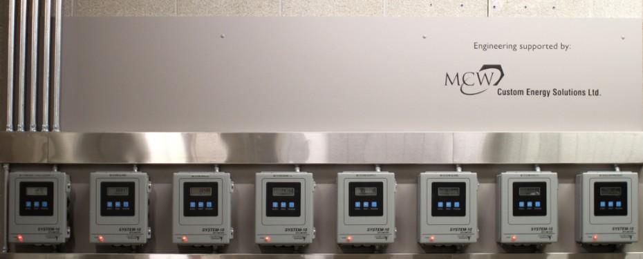 Thermal metering full array