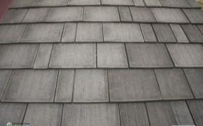 Enviroshake rubber roof tiles