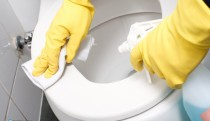 Toilet cleaning
