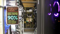 Using 90% less in the data centre