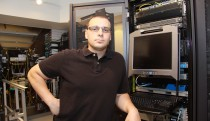 Rob in the data centre