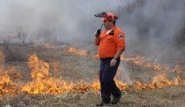 Communicating during the burn