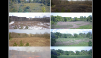 Time lapse of wetland restoration